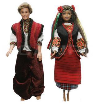 Куклы в национальной одежде украины