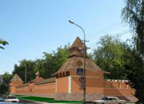 Вдоль парка будет установлен фрагмент крепостной стены старого Царевококшайска
