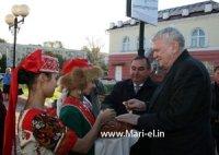 МарГУ встречает П.Домокоша