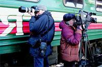 Железная дорога стала главным героем совместного проекта Антона Ланге и ОАО «РЖД»