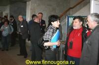 Финно-угорские журналисты во время конференции в Сыктывкаре