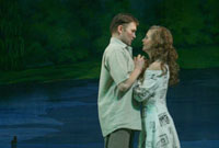 Сцена из спектакля «Шешке-шемгишке» («Невестка»)