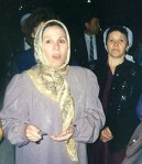 Председатель независимой партии «Иттифак» и член президиума Всемирного Конгресса татар Фаузия Байрамова