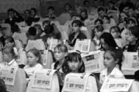 """Марийские юнкоры на празднике газеты """"Ямде лий"""""""