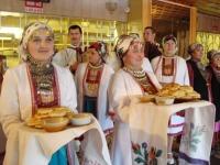 Кировские марийцы встречают гостей