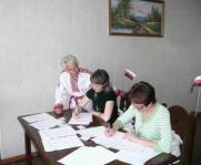 Регистрация делегатов съезда