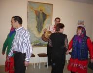 """Марийцы танцуют """"веревку"""" в лютеранском приходе Бирска. Фото Ану Вялиахо"""