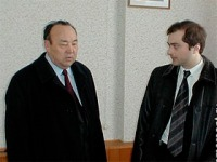 Муртаза Рахимов и Владислав Сурков