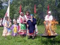 Во время праздника Семык в Удмуртии