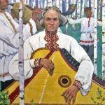 """Фрагмент картины А. Бутова """"Мелодии Тойдемара"""", 1966"""
