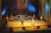 """Во время фестиваля """"Воршуд"""" в 2008 г."""