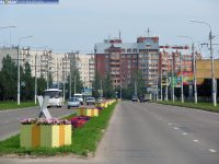 Одна из улиц Новочебоксарска