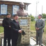 Бюст первому марийскому ученому, лингвисту Валериану Васильеву