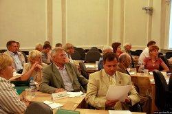 Во время заседания. Фото: Андрей Раев, gov.karelia.ru