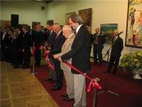 """Во время открытия выставки """"Большая Волга 2009"""" в Москве"""
