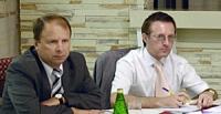 Во время зседания