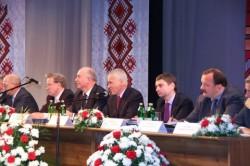 В президиуме съезда АФУН сидели одни госчиновники и руководители