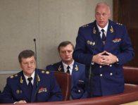 Юрий Чайка, Александр Бастрыкин, Рашид Нургалиев. Фото: ИТАР-ТАСС