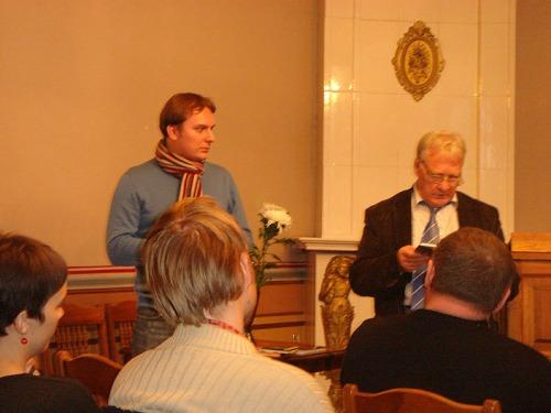 Литературный вечер в Тарту