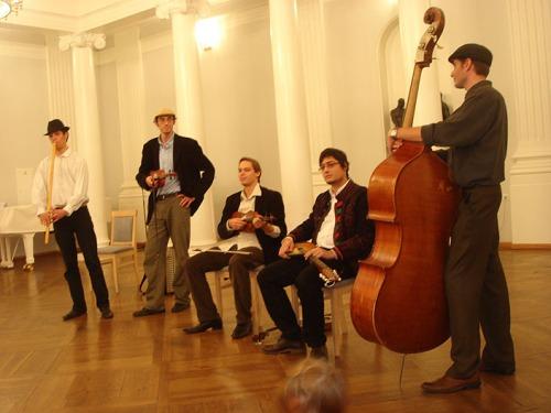 """Ансамбль """"Buda Folk Band"""" из Венгрии"""