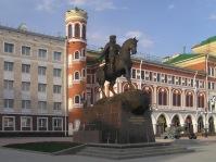 Памятник воеводе Оболенскому-Ноготкову в Йошкар-Оле