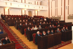 Новый созыв Госсобрания Марий Эл провел первую сессию