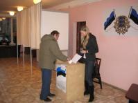 В Эстонии сегодня проходят выборы в органы местного самоуправления.