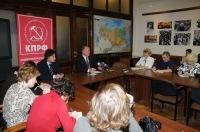 Геннадий Зюганов выступил на брифинге перед журналистами