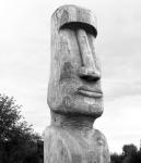 Деревянный идол. Фото: marpravda.ru