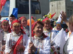 Пеледыш пайрем, Йошкар-Ола, 19 июня 2010 г. Фото: kiselev_yola