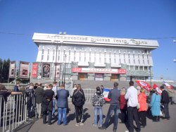 Акция протеста в Йошкар-Оле летом 2012 года