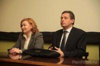 Заместитель генерального директора ВГТРК «Россия» Рифат Абдулвагапович Сабитов представил Марию Митьшеву коллективу.