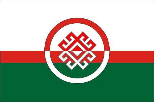 """Новый флаг региональной общественная организации """"Марий ушем"""""""