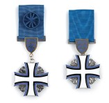 Кресты Марьямаа IV и V степеней. Фото: delfi.ee