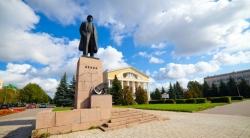 Памятник Ленину в Йошкар-Оле
