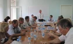 Во время встречи членов Всемарийского совета - Мер каҥаш с депутатом Госдумы Владимиром Шемякиным