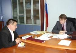 Василий Домрачев (слева) и Роман Берсенев. Фото: pfo.ru