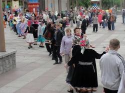"""Кандыра"" в Санкт-Петербурге растянулась на 300 м."