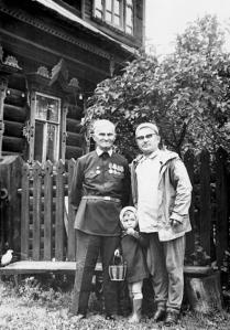 Китиков с Виноградовым во время Экспедиции в Юронга