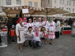 Марийцы Тарту на этноярмарке в Таллинне. Фото: В.Николаев