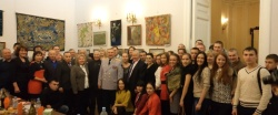Коллективная фотография с Иваном Тетериным