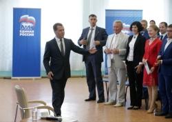 Д.Медведев в Йошкар-Оле