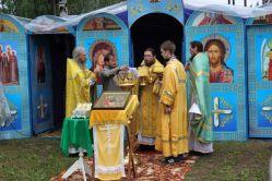Во время богослужения в деревню Немда-Обалыш Новоторъяльского района Марий Эл