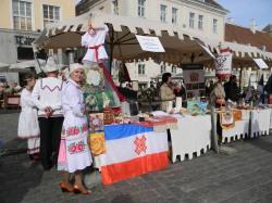 Марийцы на этноярмарке в Таллинне, 2014 г.