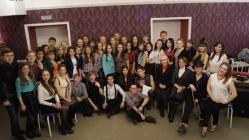 Студенты и преподаватели удмуртской филологии