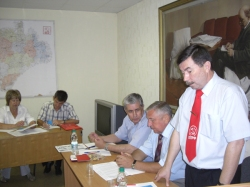 Г.Зубков на переднем плане. Фото: kprf.ru