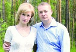 Губернатор Маркелов с супругой