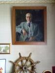 Портрет отца Якова Эшпая в гостиной дома композитора