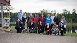 Участники практической части семинара в 2014.