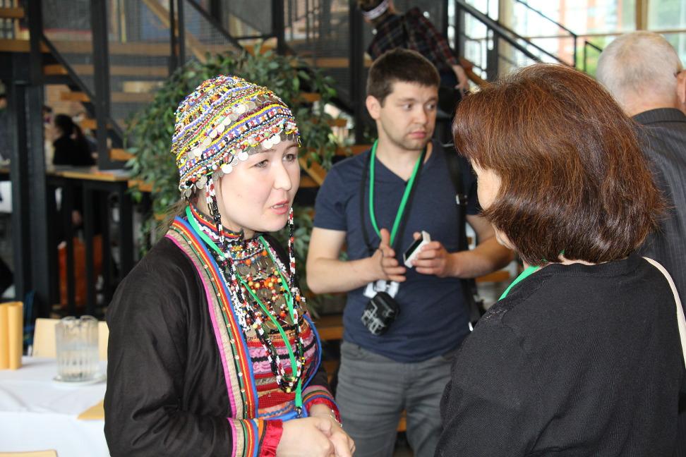А.Мишина (слева) и Г.Шкалина